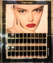 <b>Tomford</b> Lip Lacquer Luxe Matte and Lip Luxe Vinyl swatches ...