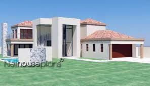 T D   NethouseplansModern tuscan style house plan  bedroom house  double storey floor plans  house