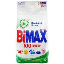 <b>Стиральный порошок Bimax автомат</b> 100 пятен 3 кг - купить с ...