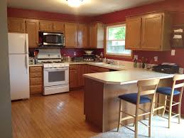 wall color ideas oak: perfect kitchen wall color ideas with oak cabinets  in with kitchen wall color ideas with