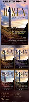 best ideas about christian flyer christian risen church flyer template
