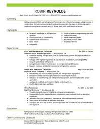 1000 images about hvac technician resumes on pinterest resume hvac and hvac technician sample resume