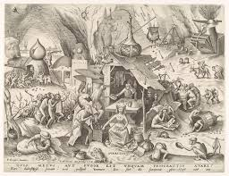 pieter bruegel the elder ca essay heilbrunn avarice avaritia from the series the seven deadly sins