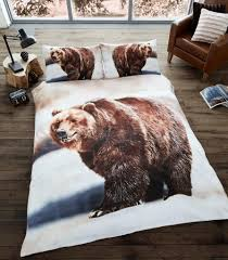 Bedding SINGLE DOUBLE ANIMAL PHOTO PRINT DUVET COVER ...
