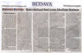 seruni bodjawati art seruni bodjawati a young artist who reads art essay by seruni bodjawati it was published in one of the most famous newspapers in yogyakarta d kedaulatan rakyat seruni writes a lot of short