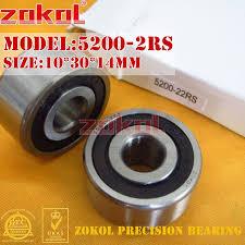 <b>ZOKOL bearing 5200 2RS</b> 3200 2RZ (3056200) Axial Angular ...