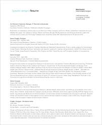 sample graphic designer resume examples in word pdf senior graphic designer resume