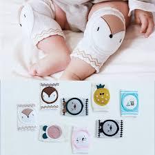 2019  0-3 Years 1 Pairs Summer Baby Knee Pads <b>Cute Cartoon</b> ...