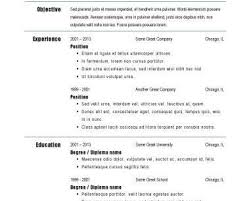 breakupus unusual resume outline student resume samples objective breakupus remarkable basic resume templates hloomcom charming big and bold and marvelous fast food cashier