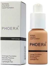 <b>PHOERA</b> Foundation Liquid, Foundation Concealer Makeup Full ...