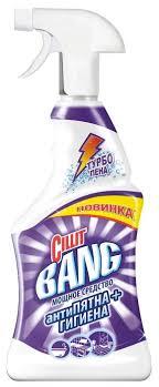 Купить товар <b>Cillit</b> BANG спрей Антипятна+гигиена 0.75 л по ...