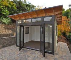 lifestyle shed a product line from studio shed that can be used as an office shed backyard shed office