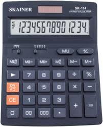 Большой настольный <b>калькулятор SKAINER SK-114</b> :: Компания ...