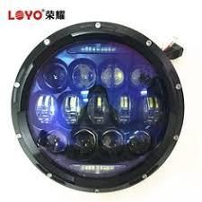 2016 105W <b>Super bright</b> High/Low Beam <b>7 LED Headlight</b> For Jeep ...