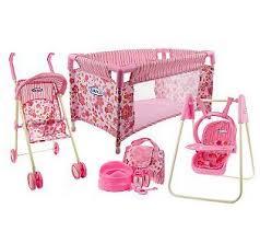 baby nursery decor creative interior baby doll nursery furniture decorating ideas stroller playsets cribs pink baby kids baby furniture