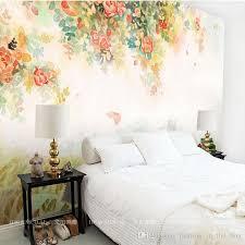 room elegant wallpaper bedroom: elegant photo wallpaper rose flower wall murals d custom wallpaper kids bedroom living room girls room