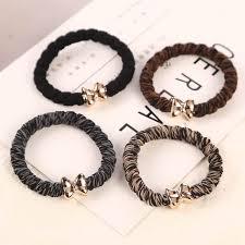 Online Shop 10pcs/lot Gold Plated Bowknot Button Big Black Elastic ...