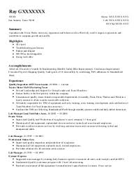 quality control inspector resume example  lear corporations    featured resumes