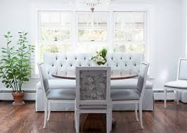 tufted dining bench with back kitchen lessons stealth glamour helahpiyoox kitchen lessons stealth glamour