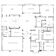 Flat Roof Single Floor House Design Story Bedroom House Plans    story bedroom house plans single story bedroom house floor plans