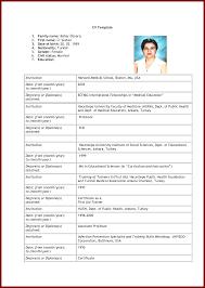 10 format of cv for job application sendletters info resume format for job application