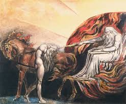 william blake god judging adam