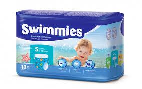 <b>Swimmies Трусики для плавания</b> Small (7-13 кг) 12 шт ...
