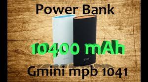Обзор и разборка <b>внешнего аккумулятора</b> Gmini mPower ...