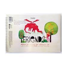 Альбом для <b>рисования Kroyter</b> Друзья 40 л А4 (1001462541 ...