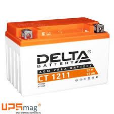 <b>АКБ Delta</b> CT 1211 (12V, 11Ah) для мототехники купить недорого ...