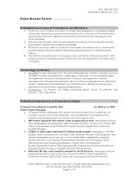 doc how to write a qualifications summary com example of a resume summary statement template