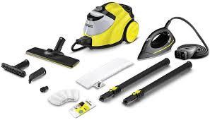 Купить <b>Пароочиститель KARCHER SC 5</b> Iron, желтый/черный в ...