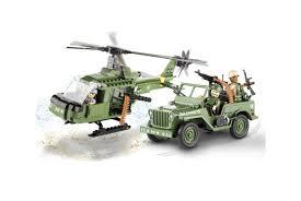 <b>Конструктор COBI</b> Джип и вертолет <b>Jeep</b> Willys and Helicopter ...