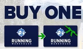 Running Warehouse Gift Cards - Buy One, Get Big Bonus Card For ...