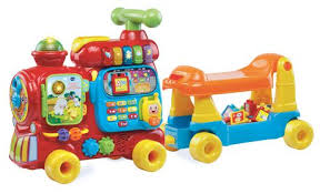 VTech® Sit-to-Stand Ultimate Alphabet <b>Train</b>- <b>English</b> Version ...
