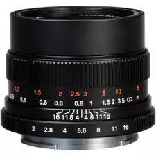 <b>Объектив 7Artisans</b> 35mm F2.0 Fuji (FX <b>Mount</b>) - купить в интернет ...