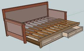 daybeds diy daybed and diy and crafts on pinterest building frame day bed