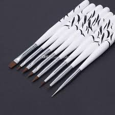 <b>Hot Sales</b> New <b>8 PCS</b> Nail Art Design Brushes Dotting Painting Pen ...