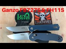 <b>Ganzo Firebird FB727S</b> & FH11S small knives / Includes Disassembly