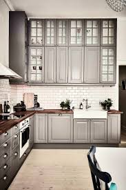 apartmentsexquisite modern kitchen gray cabinets outofhome dark countertops grey oak cabinet natural stone wall bathroomexquisite images kitchen lighting