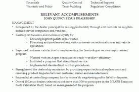automotive service manager resume examples resume for self reentrycorps service manager resume examples