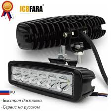 <b>18W 6LED</b> DRL Spot <b>Working</b> Lights Waterproof Bright Spotlight for ...
