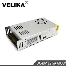 600W <b>48V</b> 12.5A <b>Power</b> supply Driver Transformers AC110V 220V ...
