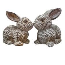 <b>Decorative Rabbit</b> Gift, <b>For</b> Interior <b>Decor</b>, Rs 560 /pair | ID ...