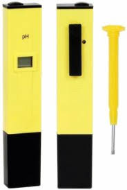 Safeseed LCD <b>Digital LCD PH meter</b> Thermometer (Yellow)