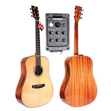 "<b>Finlay 41</b>"" <b>Full Solid Electric Guitar</b>,With <b>Solid</b> Spruce Top/<b>Solid</b> ..."