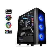 Buy Online Thermaltake <b>Versa J25 Tempered</b> Glass RGB Mid Tower ...