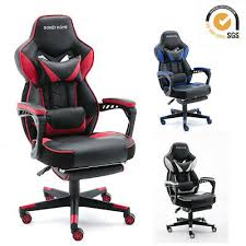 <b>Gaming</b> Chair Racing Style <b>Leather Office</b> Recliner Computer Seat ...