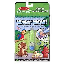Купить <b>раскраску Melissa Doug</b> Рисуем водой Животные в ...