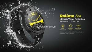 <b>Rollme S08</b> Review - Face Unlock 4G Smartwatch For Just $139.99